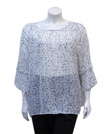 Блуза Сиви точки