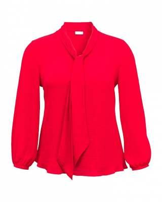 Блуза стил в червено