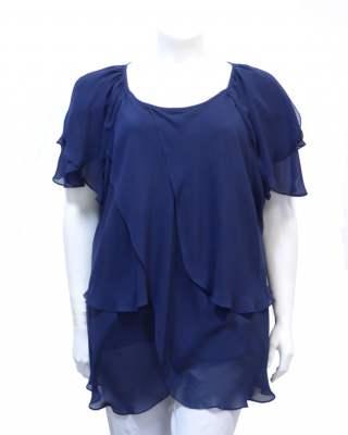 Блуза Стил в тъмносиньо