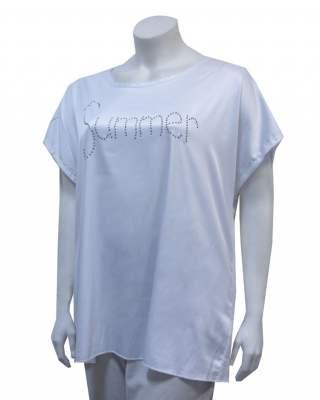 Блуза Summer в бяло