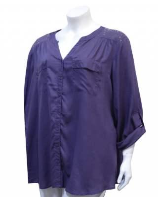 Блуза Теа елемент два джоба