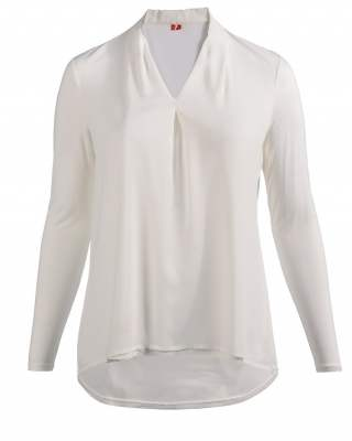 Блуза плоха в бяло