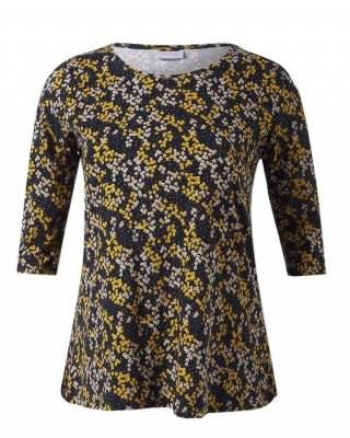 Блуза  цветчета в жълто