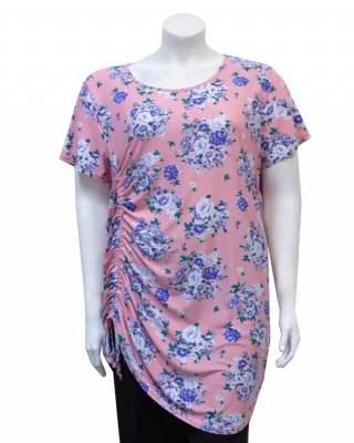 Блуза Цветя в розово