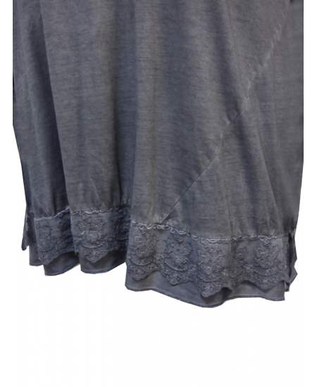 Блуза винтидж дантела