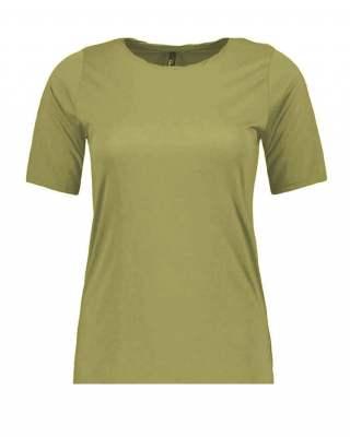 Блуза зелено бие ефект