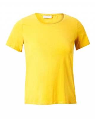 Блуза жълта къс ръкав