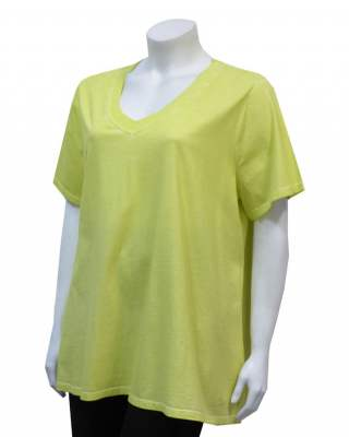 Блуза жълта шпиц