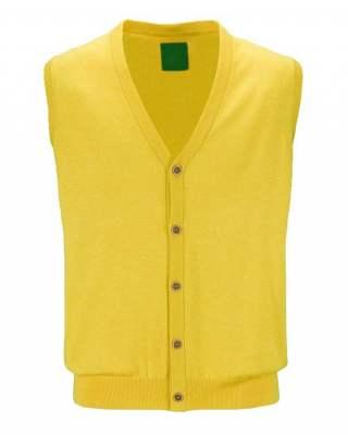 Елек джоб копче жълт