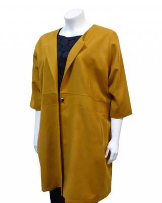 Манто Selection жълто
