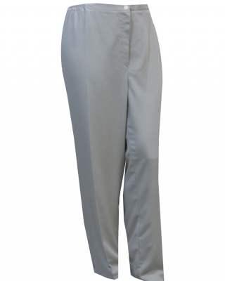 Панталон светлосив с цип
