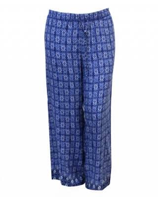 Панталон вискоза в синьо