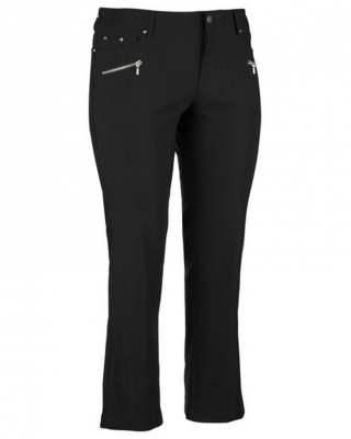 Панталон черен еластичен