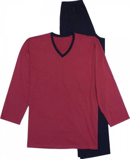 Пижама Ларж червен