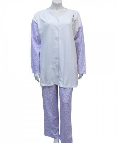 Пижама съчетание в лилаво