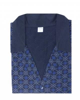 Пижама съчетание в тъмносиньо