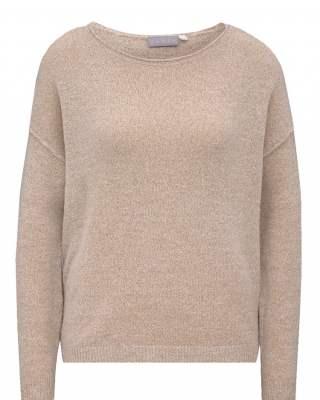Пуловер бие бежов