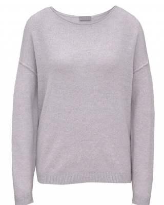 Пуловер бие сив