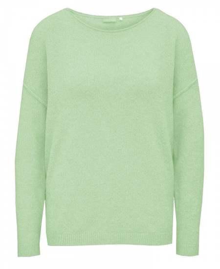 Пуловер бие зелен