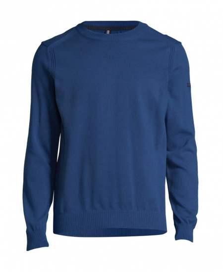 Пуловер Bugatti Style в синьо