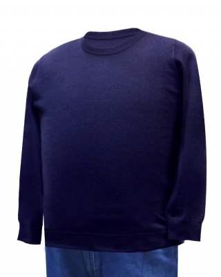 Пуловер лилав