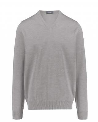 Пуловер März сив