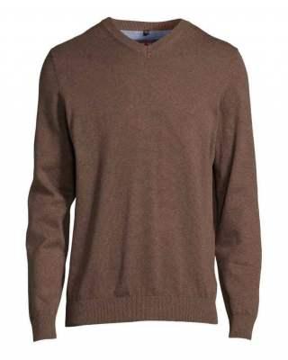Пуловер Marvelis casual в кафяво