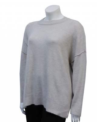 Пуловер Широко бие бежов