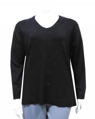 Пуловер стил класик