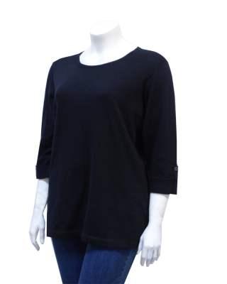 Пуловер Теа Финес в черно