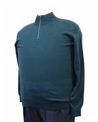 Пуловер Троер зелен