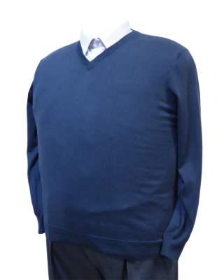 Пуловер тъмносин