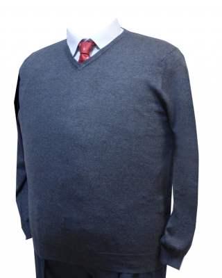 Пуловер тъмносив