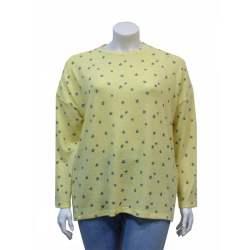 Пуловер в жълто