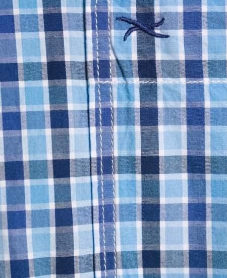 Риза Brax каре в синьо