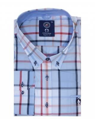 Риза Campione светлосин
