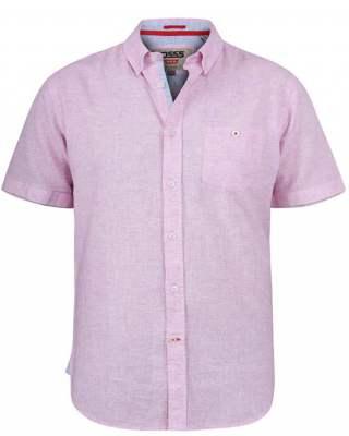 Риза Duke Reid лен розов