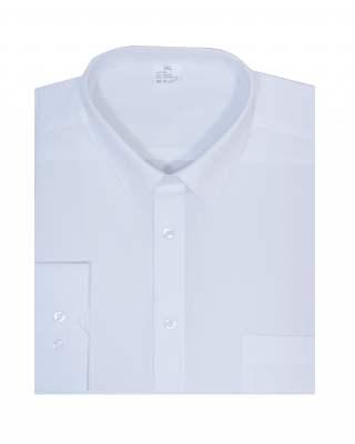 Риза дълъг ръкав бял