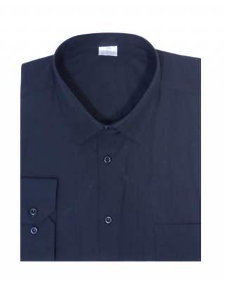 Риза дълъг ръкав черен