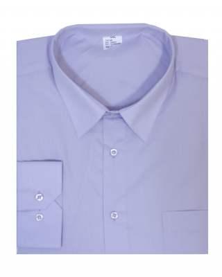 Риза дълъг ръкав лилав