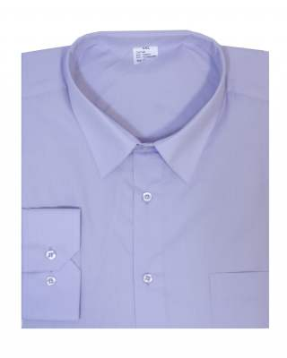 Риза дълъг ръкав лилав екстра