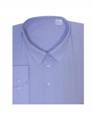 Риза дълъг ръкав лилаво райе екстра