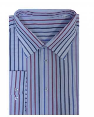 Риза дълъг ръкав райе съчетание