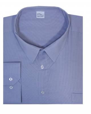 Риза дълъг ръкав ситно райе в лилаво