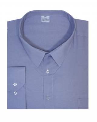 Риза дълъг ръкав ситно райе в лилаво екстра