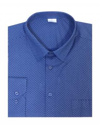 Риза дълъг ръкав точки екстра