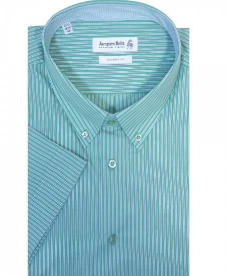Риза Jacques britt 174668 къс ръкав