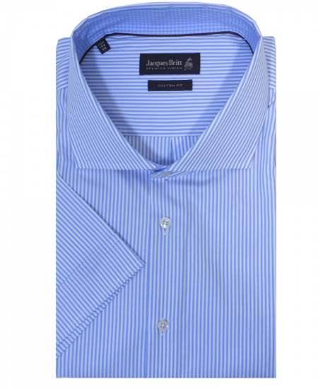 Риза Jacques britt 676822 къс ръкав