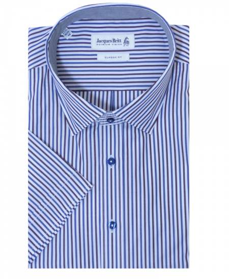 Риза Jacques britt 857031 къс ръкав
