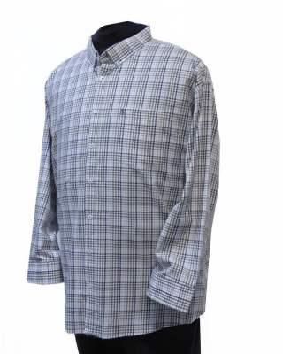 Риза Светло каре в бежово дълъг ръкав